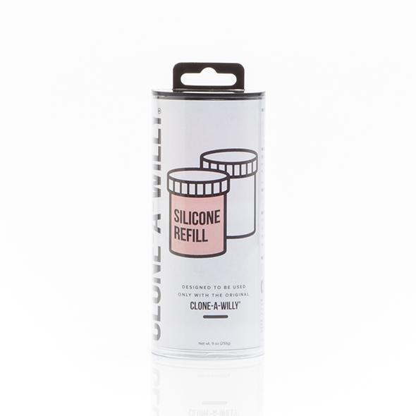 Clone-A-Willy Refill Silicone Koop wat meer rubber om een andere dildo te maken of wat je maar kunt bedenken! OPMERKING: dit item is exclusief de nodige richtlijnen, molding containers enz