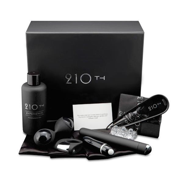 210th Erotic Box Klassiek Verken jullie intieme grenzen en ontdek samen de werking van de zeven luxe en erotische accessoires