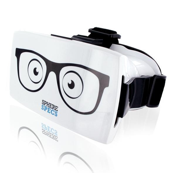 SphereSpecs Virtual Reality Headset 3D 360 SPHERESPECS is een Virtual Reality Headset voor smartphones waarmee je 360 graden overal om je heen kan kijken: in 3D! Met SPHERESPECS krijg je het waanzinnige gevoel midden in een film of foto te staan en echt daar te zijn! Dit is werkelijk net echt! Ervaar interactief virtual reality porno, samen metéén van onze vele masturbators& vibrators