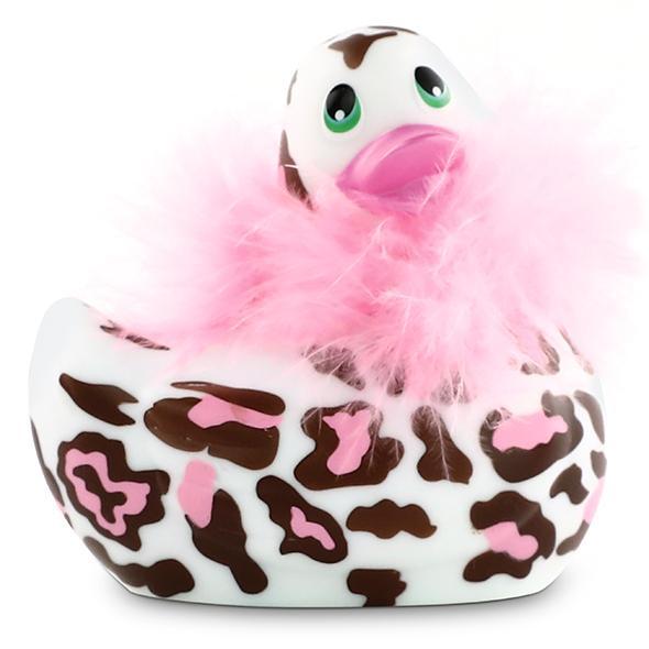 I Rub My Duckie 2.0 Wild Panter Maak kennis met deze vrolijke en vriendelijke vibrerende massage badeend die met je speelt waar je maar wilt