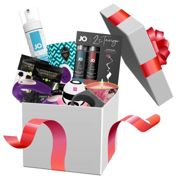 The LoveBox Voor Koppels Deluxe The LoveBox Voor Koppels Deluxe is het perfecte luxe cadeau voor jullie